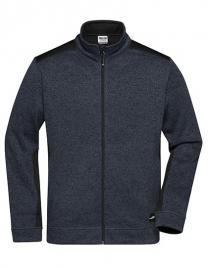 Men's Knitted Workwear Fleece Jacket -STRONG-