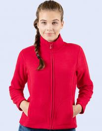 Ladies` Full Zip Fleece Jacket